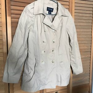 St Johns Bay khaki coat